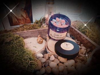 pot de mini fondants parfumés sorts et enchantements 3