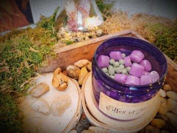 pot de mini fondants parfumés elfes et fées 1