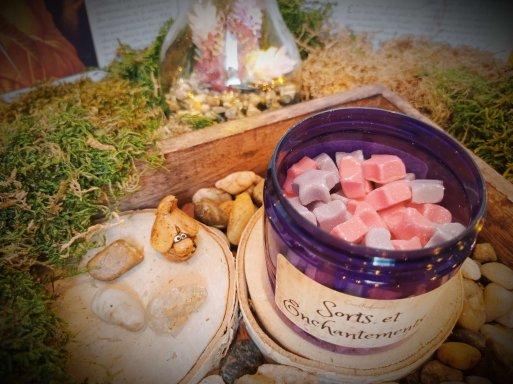 pot de mini fondants parfumés sorts et enchantements 1